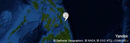 Yandex Map of 1.093 miles of Bayasa Islands