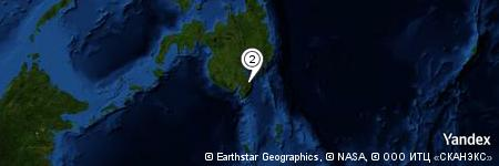 Yandex Map of 1.159 miles of Mount Salungcatan