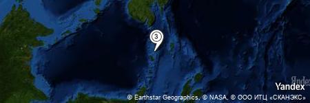 Yandex Map of 5.691 miles of Pulau Salehe