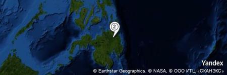 Yandex Map of 1.140 miles of Katgasan River