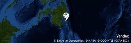 Yandex Map of 1.212 miles of Tiblawan