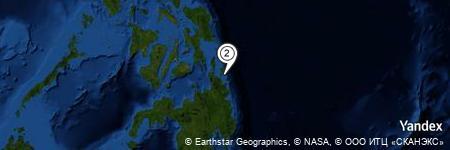 Yandex Map of 1.718 miles of Anajauan Island