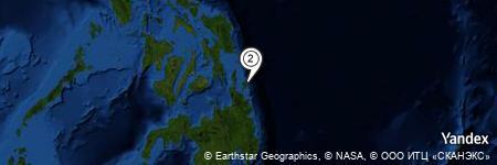 Yandex Map of 5.852 miles of Caridad