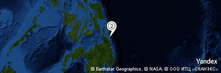 Yandex Map of 5.155 miles of Antokon Island