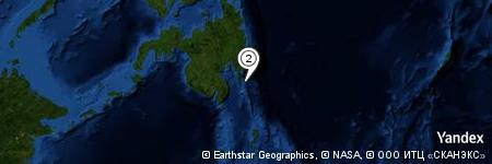Yandex Map of 16.819 miles of Luban Island