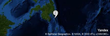 Yandex Map of 21.204 miles of Lagum Point