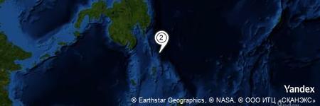 Yandex Map of 40.003 miles of Pulau Garat