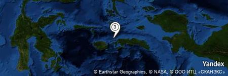 Yandex Map of 9.777 miles of Tanjung Hahusaesiah