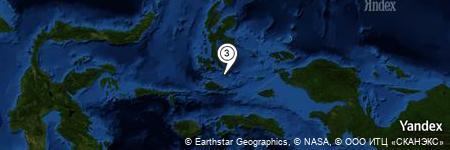 Yandex Map of 1.752 miles of Pulau Ganone