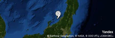 Yandex Map of 9.222 miles of Nozaki Bana