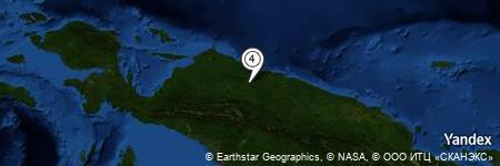 Yandex Map of 15.528 miles of Sungai Wirubeteknala