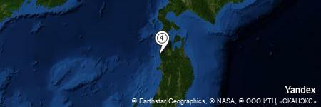 Yandex Map of 0.687 miles of Ōrinji