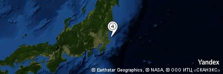 Yandex Map of 10.860 miles of Kashima-nada