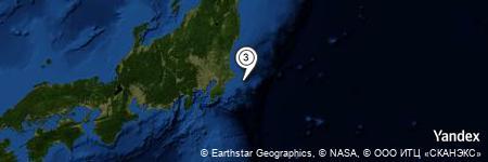 Yandex Map of 19.861 miles of Nagasaki-hana