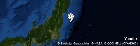 Yandex Map of 53.479 miles of Tachi-iwa