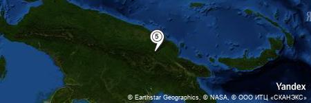 Yandex Map of 2.537 miles of Sangapi Airport