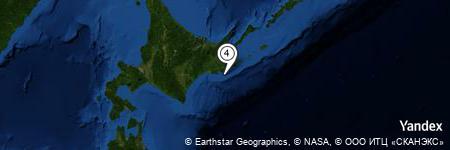 Yandex Map of 7.829 miles of Tachi Iwa