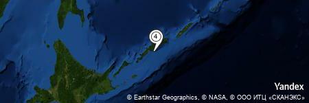 Yandex Map of 7.358 miles of Mys Smerchevoy