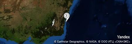 Yandex Map of 8.574 miles of Barunga Point