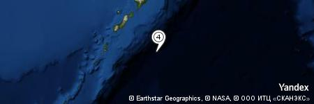 Yandex Map of 70.008 miles of Oyashio