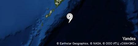Yandex Map of 77.863 miles of Oyashio