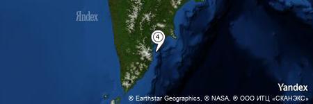 Yandex Map of 10.629 miles of Bukhta Sabotazhnaya