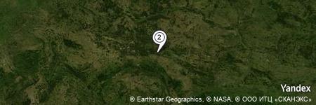 Yandex Map of 0.519 miles of Krzeczyn Wielki
