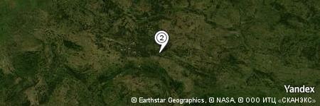 Yandex Map of 0.173 miles of Lubin