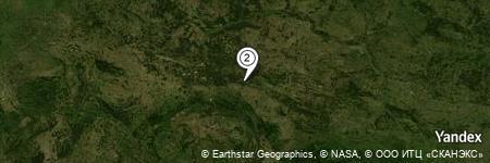 Yandex Map of 0.313 miles of Zwierzyniec