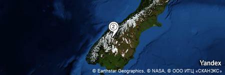 Yandex Map of 1.439 miles of Black Peak