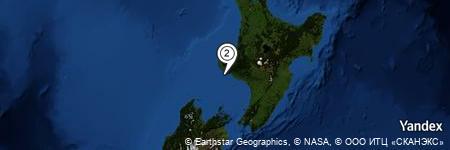 Yandex Map of 1.159 miles of South Taranaki Bight