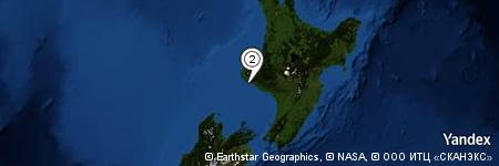 Yandex Map of 2.407 miles of South Taranaki Bight
