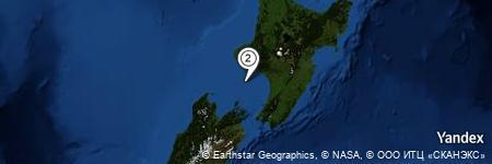 Yandex Map of 20.917 miles of Graham Bank