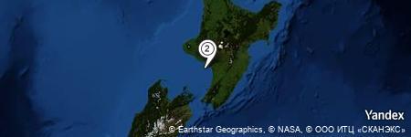 Yandex Map of 12.063 miles of Whangaehu River