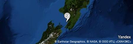 Yandex Map of 8.752 miles of Arapawaiti
