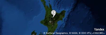 Yandex Map of 1.602 miles of Tauhara