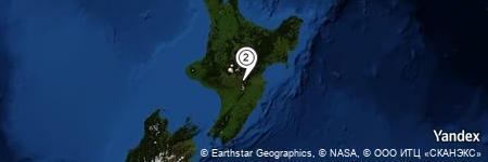 Yandex Map of 0.716 miles of Ruahine Corner Hut