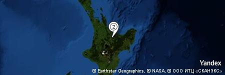 Yandex Map of 0.322 miles of Te Puroku Point
