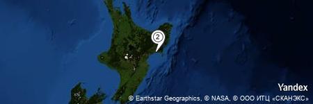 Yandex Map of 1.234 miles of Waiatai