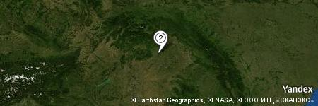 Yandex Map of 0.230 miles of Bekecs-patak