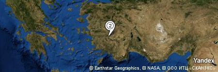 Yandex Map of 0.971 miles of Dela Dağı