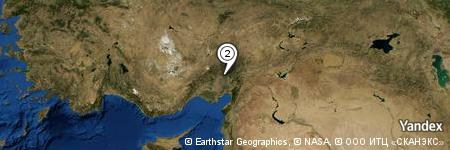 Yandex Map of 1.630 miles of Turunçlu