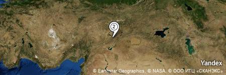 Yandex Map of 0.407 miles of Şakşak Dağı
