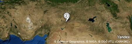 Yandex Map of 1.130 miles of Çevrimtaş