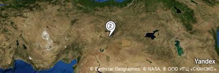Yandex Map of 0.307 miles of Dedepınarı
