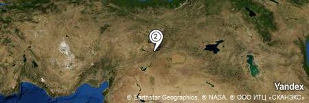 Yandex Map of 0.929 miles of Yedipınar