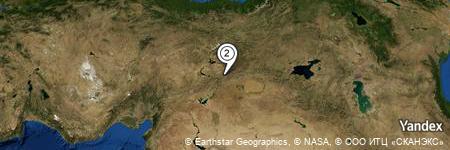 Yandex Map of 0.868 miles of Durmuştepe