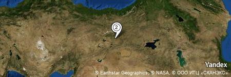 Yandex Map of 0.679 miles of Güleç