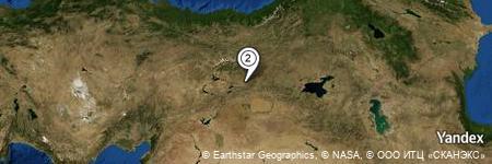 Yandex Map of 0.233 miles of Yukarı Mirahmet
