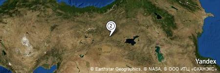 Yandex Map of 0.126 miles of Şimşirpınar